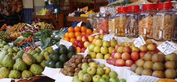 Mercado dos lavradores - Madère