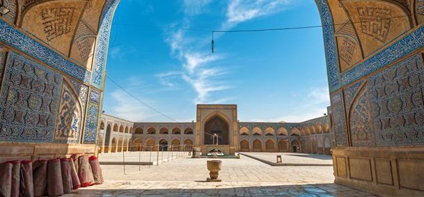 Mosquée du Vendredi à Ispahan