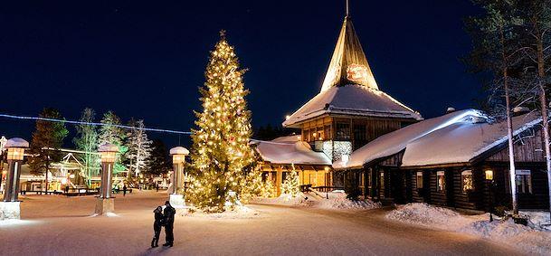 Nouvel An Laponie