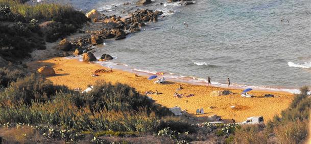 San Blas Bay - Gozo