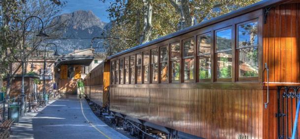 Train de Soller - Majorque