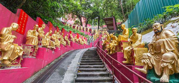 Monastère des 10 000 bouddhas