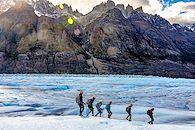 Glaciers en Terre de Feu - Argentine -