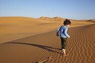 Les p'tits bédouins des dunes - Maroc -