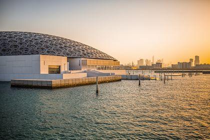Le musée Louvre d'Abou Dhabi - Abou Dhabi - Emirats Arabes Unis - Romain Gaillard/REA/Comptoir des Voyages