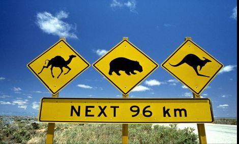 Panneaux de signalisation - Autralie - Nick Rains/Tourism Australia