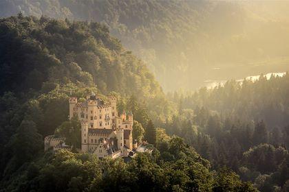Château d'Hohenschwangau - Schwangau - Allemagne - Vichie81/fotolia.com