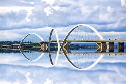 Pont Juscelino Kubitschek à Brasilia - Brésil - R.M. Nunes/Stock.adobe.com