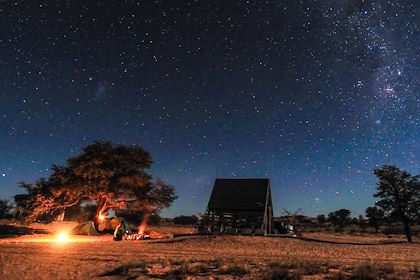 Campement au Botswana - Aflo/hemis.fr