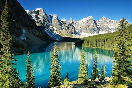 Le lac Moraine - Parc national de Banff - Alberta - Canada - Estivillml/fotolia.com
