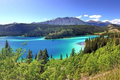 Lac Émeraude - Yukon - Canada - Giomineo/fotolia.com