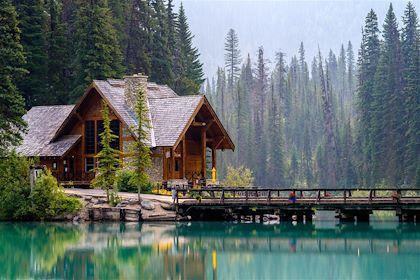 Lac Émeraude - Colombie-Britannique - Canada - Stevengaertner/fotolia.com