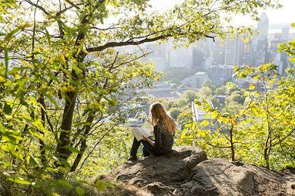 Parc du Mont-Royal - Montréal - Québec - Canada - Tourisme Québec/Dominique Lafond