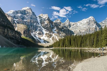 Lake Louise - Parc national de Banff - Alberta - Canada - margie/fotolia.com