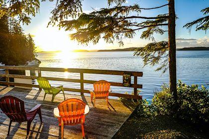 Telegraph Cove Resort - Île de Vancouver - Canada - Xavier Popy/REA/Comptoir des Voyages