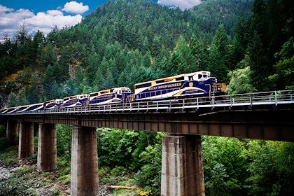 Train Rocky Mountaineer - Canada - Tourism Vancouver / Rocky Mountaineer