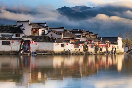 Hongcun - Province de l'Anhui - Chine - lily/fotolia.com