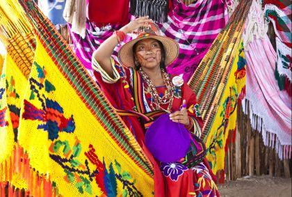 Festival de la culture Wayuu - département de la Guajira - Colombie - Cyril Le Tourneur d'Ison/hemis.fr