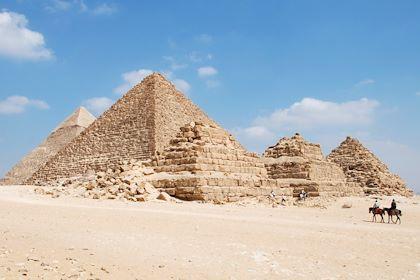 Pyramides de Gizeh - Egypte - Chloé Ruffin