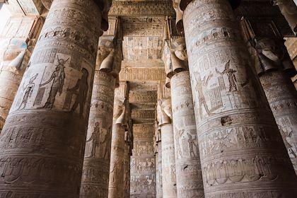 Le Temple d'Hathor - Dendérah - Égypte - Milan Szypura/Haytham-REA/Comptoir des Voyages