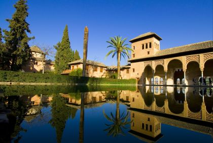 Jardins du Partal - Alhambra - Grenade - Espagne - VRD / Fotolia.com