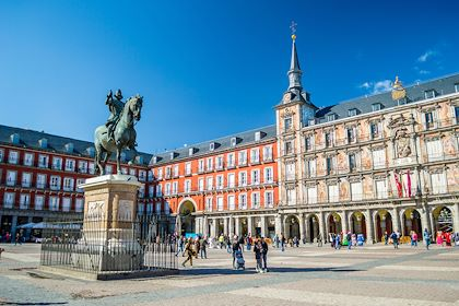 Plaza Mayor - Madrid - Espagne - andrii_lutsyk / stock.adobe.com