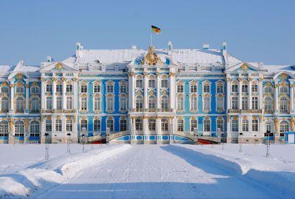 Palais Catherine Pouchkine - St-Petersbourg - Russie - Kempiski