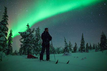 Aurore boréale - Laponie - Finlande - Antti Pietikäinen/VisitFinland