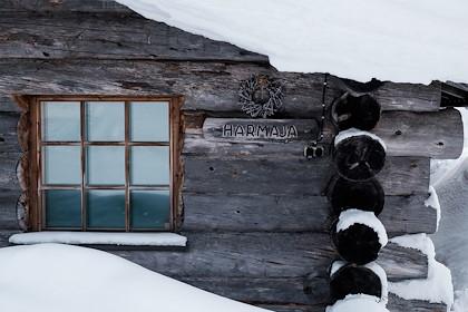 Hotel Iso Syote : le chalet en rondins - Syote - Laponie - Finlande - Juliette ROBERT/HAYTHAM-REA/Comptoir des Voyages