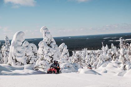 Safari en motoneige - Syote - Laponie - Finlande - Juliette ROBERT/HAYTHAM-REA/Comptoir des Voyages
