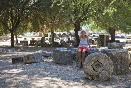 Site archéologique d'Olympie - Péloponnèse - Grèce - B.Gardel/hemis.fr