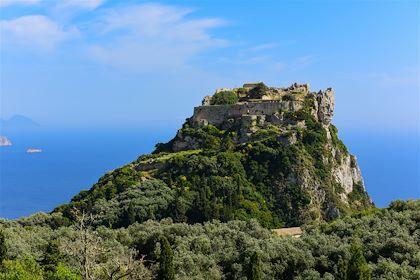 Forteresse bysantine d'Angelokastro - Île de Corfou - Grèce - EugeS/fotolia.com