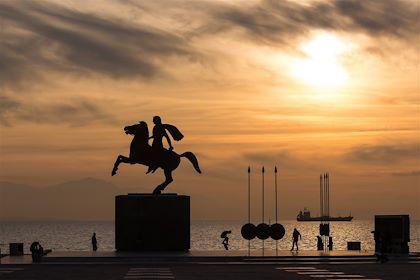 Statue d'Alexandre le Grand à Thessalonique - Grèce - Verve/fotolia.com