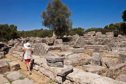 Site archéologique d'Olympie - Péloponnèse - Grèce - Bertrand Gardel / hemis.fr