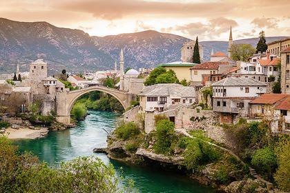 Mostar - Bosnie Herzégovine - Alexey Stiop/stock.adobe.com