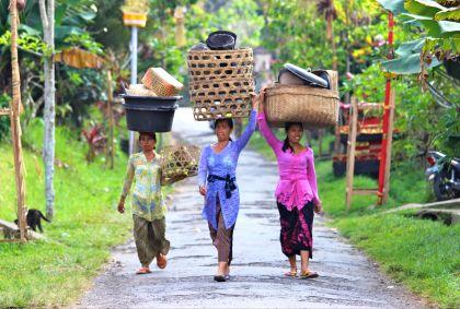 Portrait de femmes - Bali - Indonésie - Valerie Villet