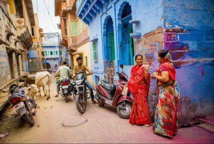 Scène de rue à Jodhpur - État du Rajasthan - Inde - Robert Harding/hemis.fr