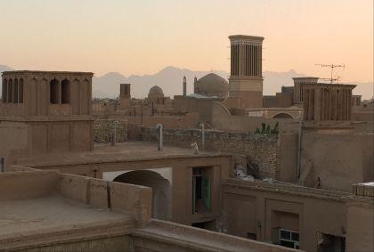 Dans les rues de la vieille ville de Yazd - Province de Yazd - Iran - Maryline Goustiaux