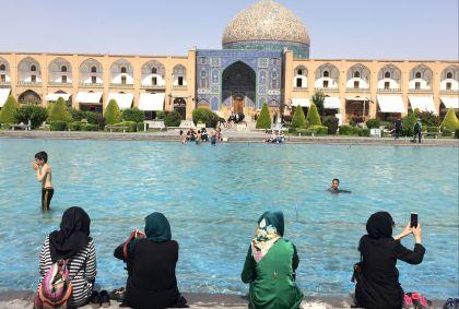 Place Naghsh-e Jahan - Ispahan - Province d'Ispahan - Iran - Maryline Goustiaux
