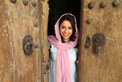 Portrait d'une iranienne à Kashan - Province d'Ispahan - Iran - Maryline Goustiaux