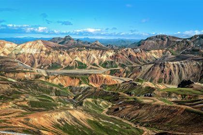 Landmannalaugar - région de Sudurland - Islande - Martin MOLCAN / fotolia.com