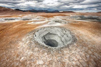 Mare de boue - Islande - Fyle/fotolia.com