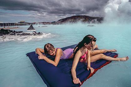 The Blue Lagoon - Grindavik - Islande - Bruno MORANDI / Hemis.fr