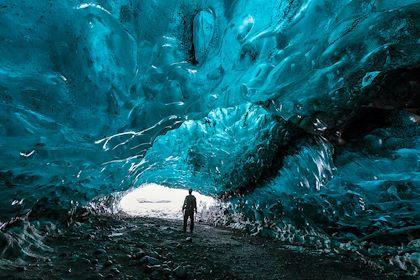 Grotte glaciaire de Katla - Vik - Islande - gemy/stock.adobe.com
