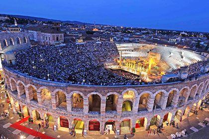 Festival des Arènes de Vérone - Région de la Vénétie - Italie - Ennevi/Fondazione Arena di Verona