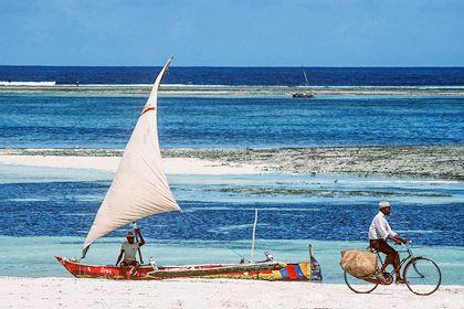 Sur une plage de Mombasa - Kenya - Kenya Tourism Board