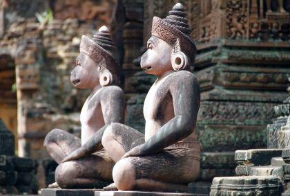 Temple de Banteay Srei - Province de Siem Reap - Cambodge - Maryline Goustiaux