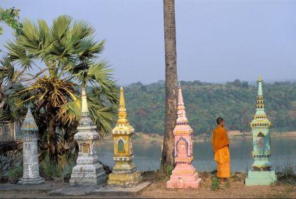 Temple khmer de Vat Phu Ngoy - Province de Champasak - Laos - Christophe Boisvieux/hemis.fr