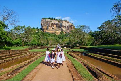 Site de Sigirya classé patrimoine mondial de l'Unesco - Sri Lanka - Tuul et Bruno Morandi / hemis.fr