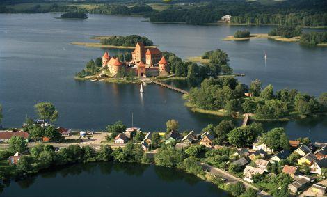 Château de Trakai - Varanka